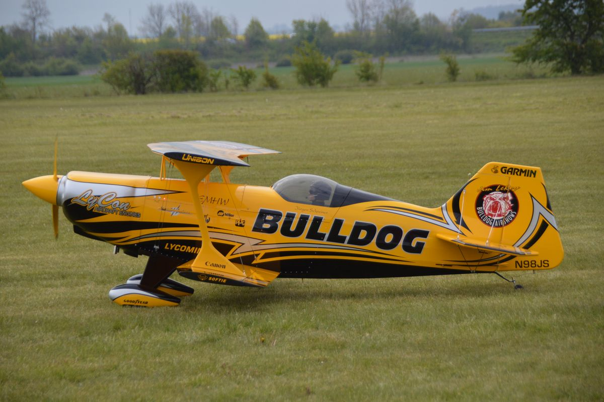 EMHW Pitts Bulldog II 50%